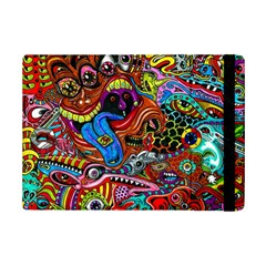 Art Color Dark Detail Monsters Psychedelic Ipad Mini 2 Flip Cases by BangZart