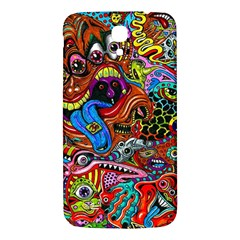 Art Color Dark Detail Monsters Psychedelic Samsung Galaxy Mega I9200 Hardshell Back Case by BangZart