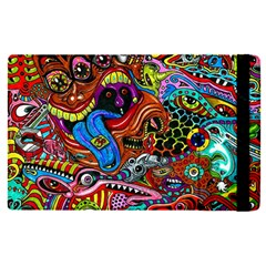 Art Color Dark Detail Monsters Psychedelic Apple Ipad Pro 9 7   Flip Case by BangZart
