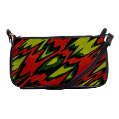 Distorted Shapes                           Shoulder Clutch Bag by LalyLauraFLM