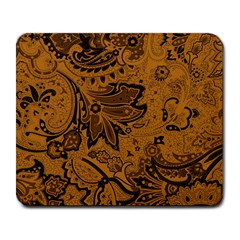 Art Traditional Batik Flower Pattern Large Mousepads