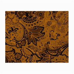 Art Traditional Batik Flower Pattern Small Glasses Cloth by BangZart