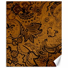 Art Traditional Batik Flower Pattern Canvas 20  X 24   by BangZart