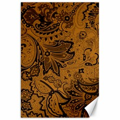 Art Traditional Batik Flower Pattern Canvas 20  X 30