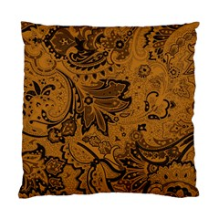 Art Traditional Batik Flower Pattern Standard Cushion Case (two Sides) by BangZart