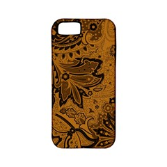 Art Traditional Batik Flower Pattern Apple Iphone 5 Classic Hardshell Case (pc+silicone) by BangZart