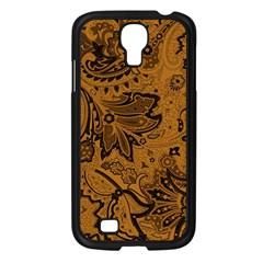 Art Traditional Batik Flower Pattern Samsung Galaxy S4 I9500/ I9505 Case (black)