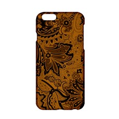 Art Traditional Batik Flower Pattern Apple Iphone 6/6s Hardshell Case