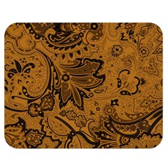 Art Traditional Batik Flower Pattern Double Sided Flano Blanket (medium)