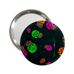 Abstract Bug Insect Pattern 2 25  Handbag Mirrors
