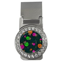 Abstract Bug Insect Pattern Money Clips (cz)