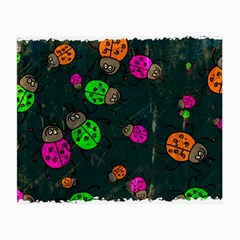 Abstract Bug Insect Pattern Small Glasses Cloth