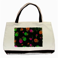 Abstract Bug Insect Pattern Basic Tote Bag by BangZart