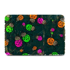 Abstract Bug Insect Pattern Plate Mats by BangZart