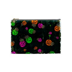 Abstract Bug Insect Pattern Cosmetic Bag (medium)  by BangZart