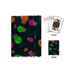 Abstract Bug Insect Pattern Playing Cards (mini)  by BangZart