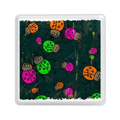 Abstract Bug Insect Pattern Memory Card Reader (square)  by BangZart