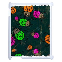 Abstract Bug Insect Pattern Apple Ipad 2 Case (white) by BangZart