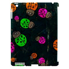 Abstract Bug Insect Pattern Apple Ipad 3/4 Hardshell Case (compatible With Smart Cover)