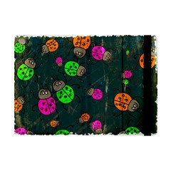 Abstract Bug Insect Pattern Apple Ipad Mini Flip Case by BangZart