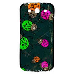 Abstract Bug Insect Pattern Samsung Galaxy S3 S Iii Classic Hardshell Back Case by BangZart