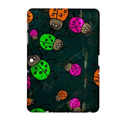 Abstract Bug Insect Pattern Samsung Galaxy Tab 2 (10 1 ) P5100 Hardshell Case