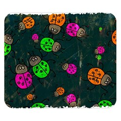 Abstract Bug Insect Pattern Double Sided Flano Blanket (small)