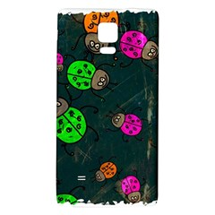 Abstract Bug Insect Pattern Galaxy Note 4 Back Case