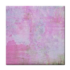 Pink Texture                           Tile Coaster by LalyLauraFLM