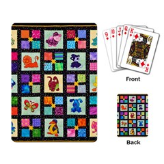Animal Party Pattern Playing Card by BangZart