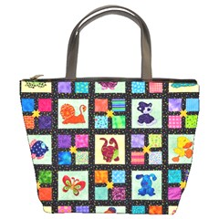 Animal Party Pattern Bucket Bags