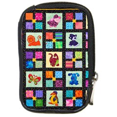 Animal Party Pattern Compact Camera Cases by BangZart