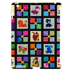 Animal Party Pattern Apple Ipad 3/4 Hardshell Case (compatible With Smart Cover) by BangZart