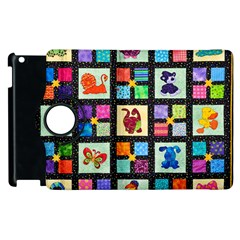 Animal Party Pattern Apple Ipad 2 Flip 360 Case by BangZart