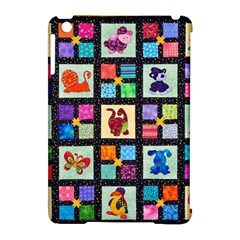 Animal Party Pattern Apple Ipad Mini Hardshell Case (compatible With Smart Cover) by BangZart