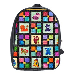 Animal Party Pattern School Bags (xl)  by BangZart