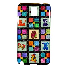 Animal Party Pattern Samsung Galaxy Note 3 N9005 Hardshell Case by BangZart