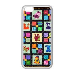 Animal Party Pattern Apple Iphone 5c Seamless Case (white) by BangZart