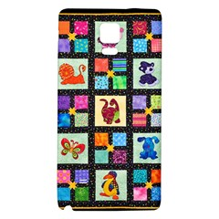 Animal Party Pattern Galaxy Note 4 Back Case