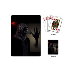 Night Walk Playing Cards (mini)  by Valentinaart