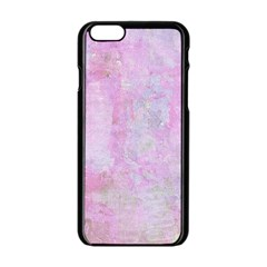 Pink Texture                     Apple Iphone 6/6s White Enamel Case by LalyLauraFLM