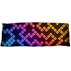 Abstract Small Block Pattern Body Pillow Case (dakimakura)