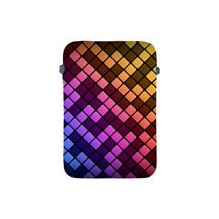 Abstract Small Block Pattern Apple Ipad Mini Protective Soft Cases by BangZart
