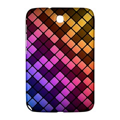 Abstract Small Block Pattern Samsung Galaxy Note 8 0 N5100 Hardshell Case  by BangZart