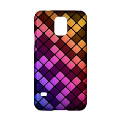 Abstract Small Block Pattern Samsung Galaxy S5 Hardshell Case