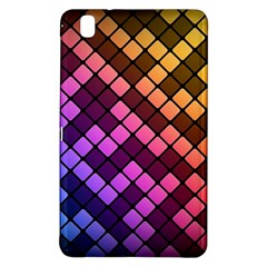 Abstract Small Block Pattern Samsung Galaxy Tab Pro 8 4 Hardshell Case by BangZart