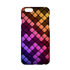 Abstract Small Block Pattern Apple Iphone 6/6s Hardshell Case