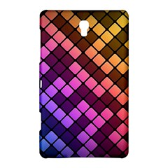 Abstract Small Block Pattern Samsung Galaxy Tab S (8 4 ) Hardshell Case