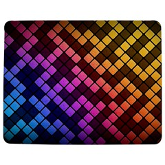 Abstract Small Block Pattern Jigsaw Puzzle Photo Stand (rectangular)