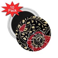 Art Batik Pattern 2 25  Magnets (10 Pack)  by BangZart